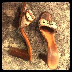 Coach slide sandals-VINTAGE